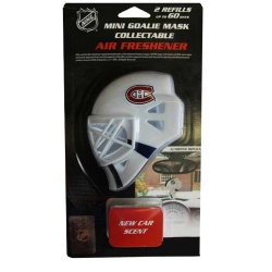 Mini masque Gardien NHL déodorisant - promoglace