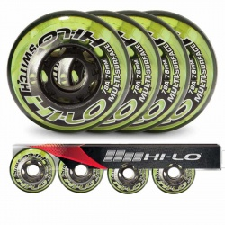 Roue HI-LO Switch 78A - Pack 4