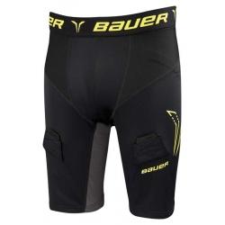 Short Bauer Premium Compression avec coquille - S17 - promoglace hockey
