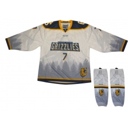Ensemble Maillot et Bas Bauer Team Grizzlies Sublimé