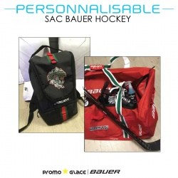 Sac Bauer Hockey Personnalisable - Promoglace