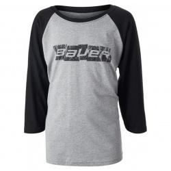 T-shirt Bauer Block of Ice Raglan Enfant