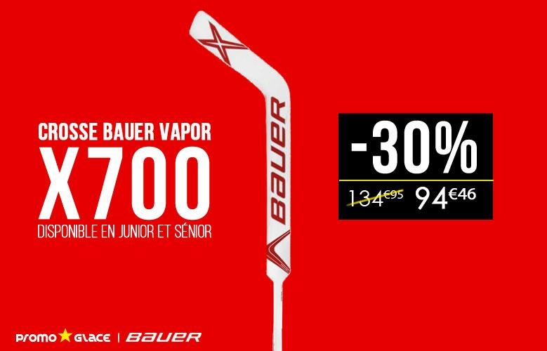 Crosse Gardien Bauer Vapor x700 - Promoglace goalie
