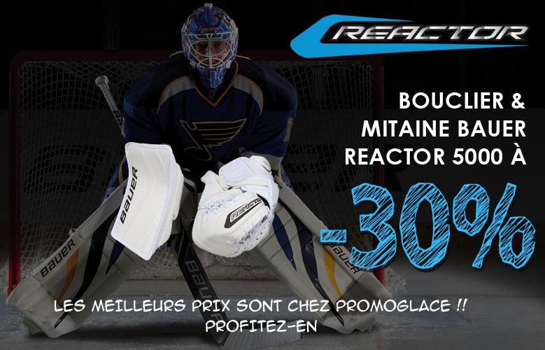 Mitaine et Bouclier Bauer Reactor 5000 en promotion