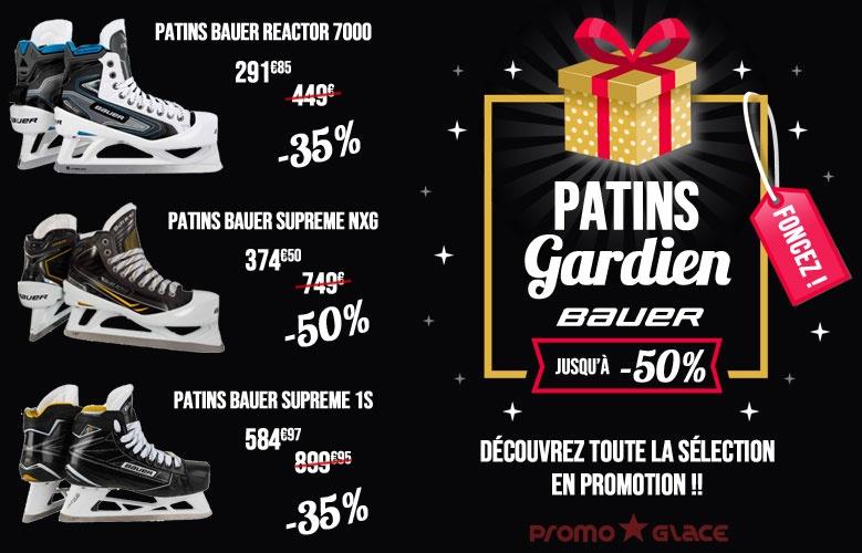 Promotion patins Bauer Gardiens - Promoglace Goalie