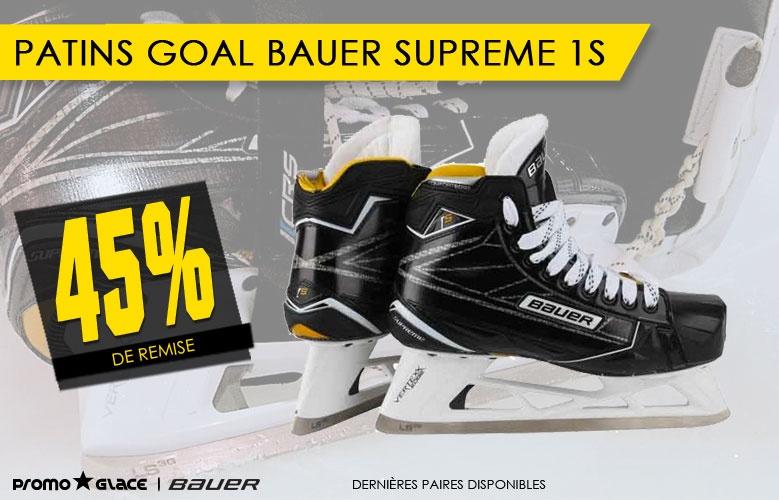 Patins Gardiens Bauer Supreme 1S - Promoglace Goalie