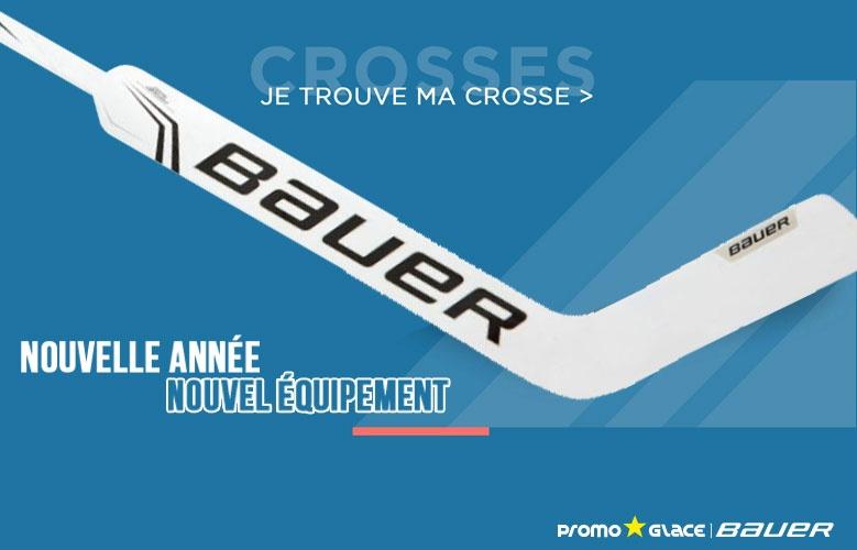 Crosses Bauer Hockey Goal - Promoglace Goalie